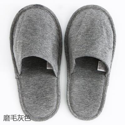 2019新款日式便携拖鞋旅行旅游折叠拖鞋 其它 磨毛灰色