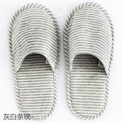 2019新款日式便携拖鞋旅行旅游折叠拖鞋 其它 灰白条纹