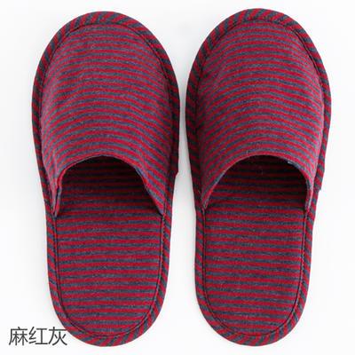 2019新款日式便携拖鞋旅行旅游折叠拖鞋 其它 麻红灰