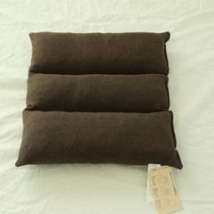 植沃家居  低反弹可折叠多功能乳胶坐垫 三折型41x41cm/个 混棕