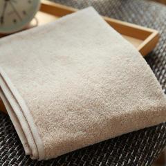 植沃家居 不可裁剪毛巾浴巾组合 浴巾:70*140cm 肉粉