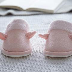 植沃家居 毛巾料女款拖鞋 女款适应36--38厘米 粉色