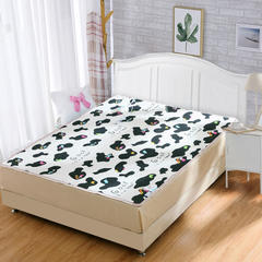 小羊羔电热毯 大奶牛毛毯双控: 150*180