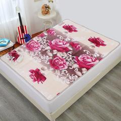 2018新品小肥羊电热毯 1小肥羊毛毯单面花:单人单控70*150
