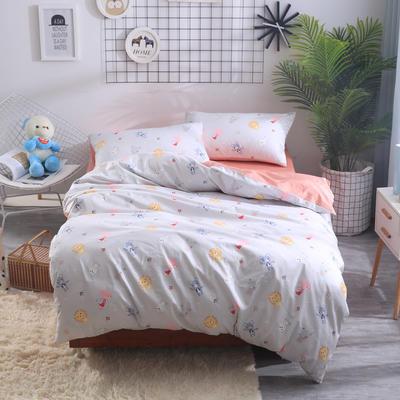 2018新款60长绒棉三件套 1.5m(5英尺)床 动物乐园