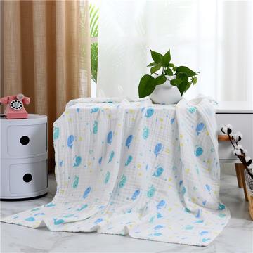 2019新款水洗纱布盖毯