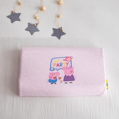 2019新款针织彩棉乳胶枕 生日派对26*44cm