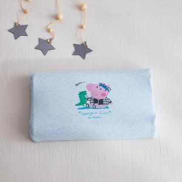 2019新款针织彩棉乳胶枕