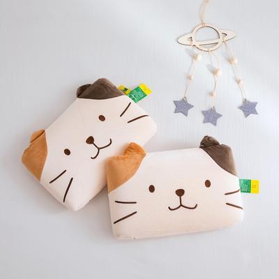 2019新款高弹天鹅乳胶枕 小萌熊 30*50cm