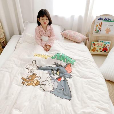 2019新款新品幼儿园儿童高密纱大版卡通有机棉花被 120x150cm/2斤 猫和老鼠