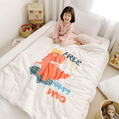 2019新款新品幼兒園兒童高密紗大版卡通有機棉花被 120x150cm/2斤 運動寶貝