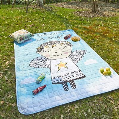 小号长方形防水野餐垫 140x200cm 天使宝宝