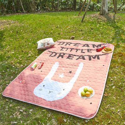 小号长方形防水野餐垫 140x200cm 小白兔