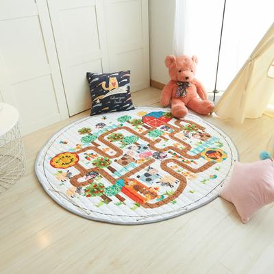 2019-新款收纳垫 直径150cm 迷宫之躲猫猫