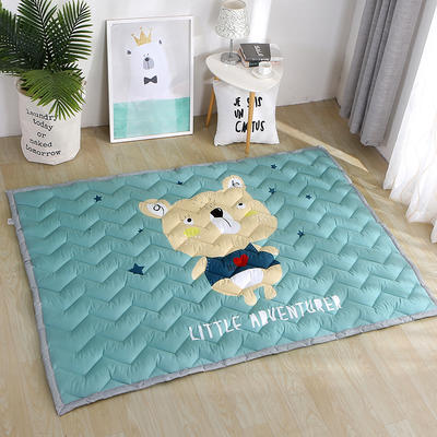 2018新款长方形卡通加厚地垫2.5厘米冬季超厚系列 150*200 可爱熊宝宝
