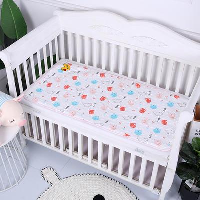 2019新款全棉婴儿隔尿垫 可爱猫头鹰100*150