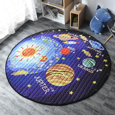 2019-新款圆形收纳垫 直径150 银河