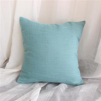 2018新品桌布同款纯色抱枕 45x45cm(单套子) 北欧蓝