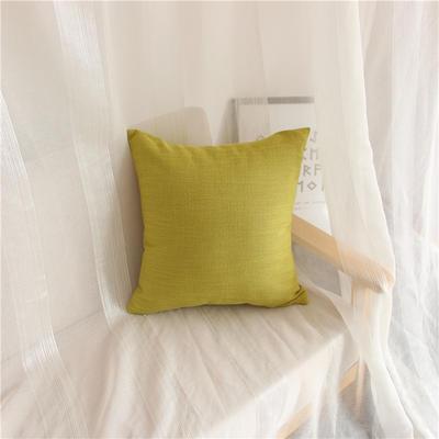 2018新品桌布同款纯色抱枕 45x45cm(单套子) 抹茶绿