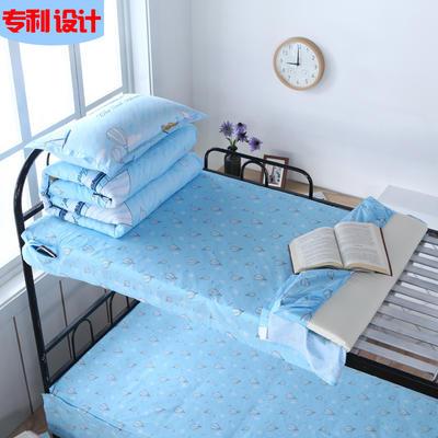 全棉13372单人床单 全棉学生床单 全棉上下铺床单 专利款床单 上下铺通用0.9m床 热气球