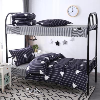 学生套件 学生床品三件套 宿舍床品 单人套件 1.0m床 艺术生活