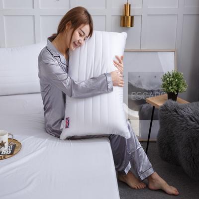 中空3D纤维枕 学生单人枕芯 宿舍单人枕头 单边枕