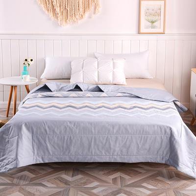2020新品全棉夏被 单双人棉花被 纯棉空调被 150x200cm单夏被 喜欢你