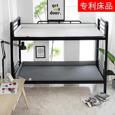 单人专利学生宿舍上下铺床垫 员工寝室床褥垫子0.9*1.9 90*200 1米*2米 1m*1.9m 床垫90/100cm通用 手提袋