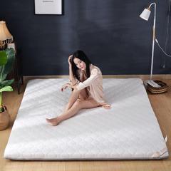 2018新品高密抗压加厚床垫10cm加厚款 0.9*2-10cm加厚款 白色