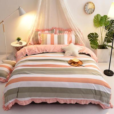 2018针织棉印花四件套 1.8m(6英尺)床 时尚领域