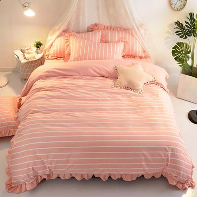 2018针织棉印花四件套 1.8m(6英尺)床 自由时光
