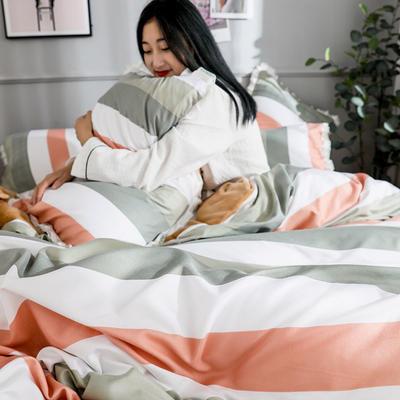 2019新款针织棉法莱绒四件套 1.8m(床单款四件套) 时尚领域