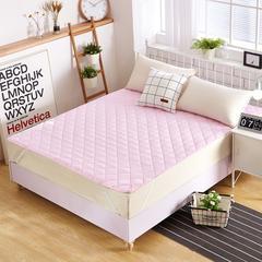 磨毛床护垫 1.2m(4英尺)床 粉色