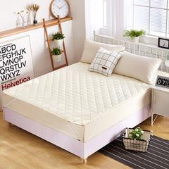 磨毛床护垫 0.9m(3英尺)床 米色