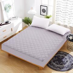 夹棉磨毛床笠 1.5m(5英尺)床 灰色