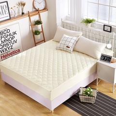 夹棉磨毛床笠 0.9m(3英尺)床 米色