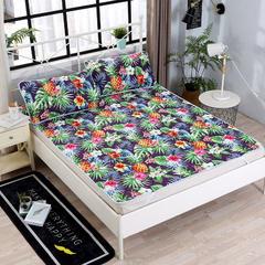 分散印花床护垫 1.8m(6英尺)床 菠萝