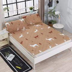分散印花床护垫 1.8m(6英尺)床 快乐