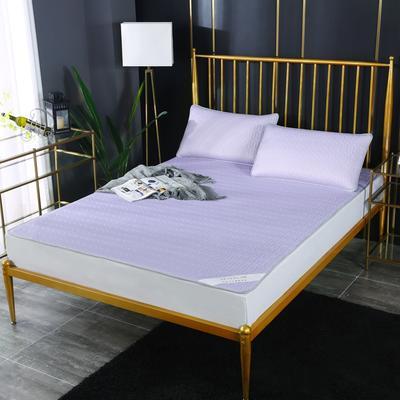 涼感乳膠涼席 涼感乳膠冰絲席  天絲乳膠涼席 冰絲乳膠席 2.0*2.2m床三件套 浪漫紫
