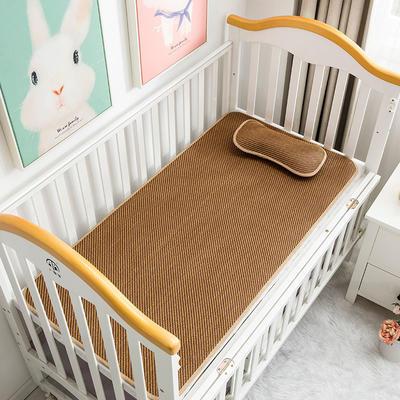 新款儿童凉席 0.6*1.2(枕套0.36*0.21) 一字格