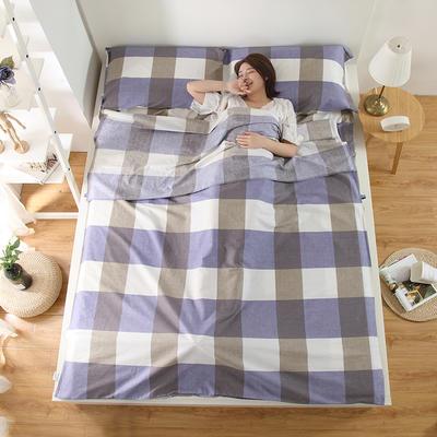 2018新品全棉旅行隔脏睡袋 简单生活1.8*2.3米