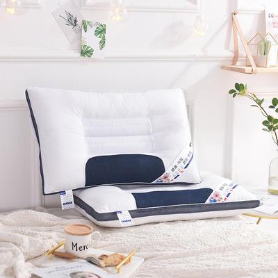蓝网决明子枕 定型珍珠棉枕头芯 蓝网决明子枕