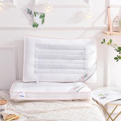 立体荞麦枕48*74 定型羽丝绒 立体荞麦枕/个