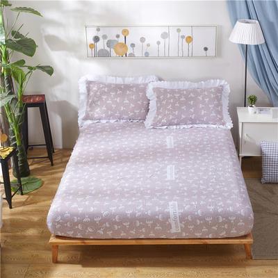 2018新款水洗棉印花单床笠系列 150cmx200cm 格调