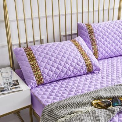 2019新款莫代尔夹棉单品枕套(绿野仙踪) 48cmX72cm 木槿紫
