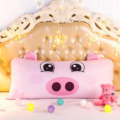 2020新款卡通床靠垫 50*110cm 小猪