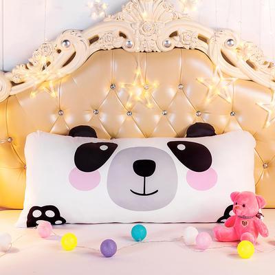 2020新款卡通床靠垫 50*110cm 熊猫