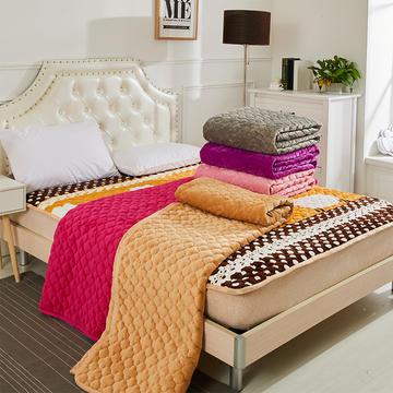 2018新款-法莱绒床垫 法莱绒床褥 CIBAO(瓷宝)床垫 QQ群:8558588 90*20 小羊