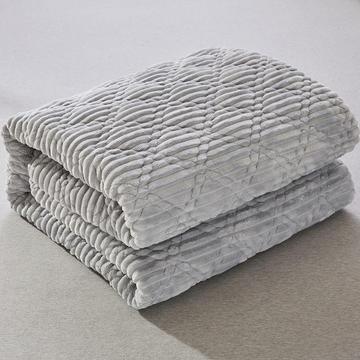 2018新款-法莱绒床垫 法莱绒床褥 CIBAO(瓷宝)床垫 QQ群:8558588 90*20 法莱绒保健床垫-驼色