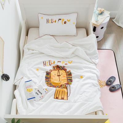 2018新品Coolbaby-酷系列儿童夏被 120x150cm 小狮子